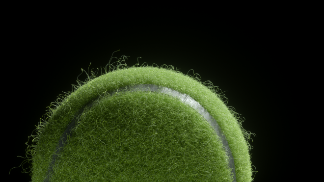 Tennisball Closeup 01 v01