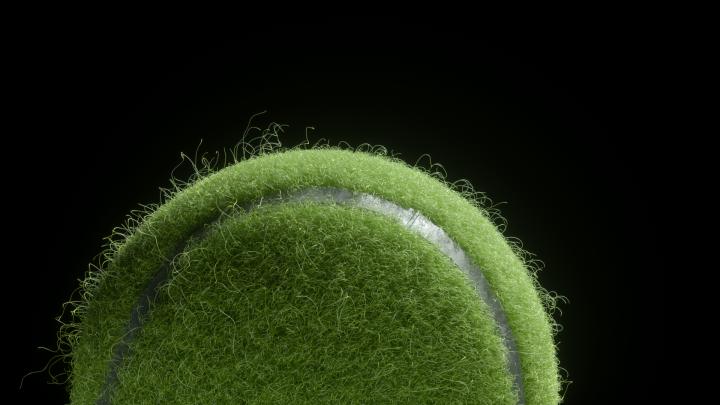 Tennisball Closeup 01 v01